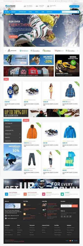 SportStore Multiple Layouts OpenCart Theme - ServerThemes.Net | Best Premium OpenCart Themes | Scoop.it