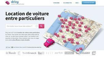 Drivy mise sur la location de voitures entre particuliers   Maxime.Larchey News   Scoop.it