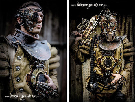 #Hand-Craft #Steampunk #Costumes From Old Parts For #Movies. #art #foundobjects | Luby Art | Scoop.it