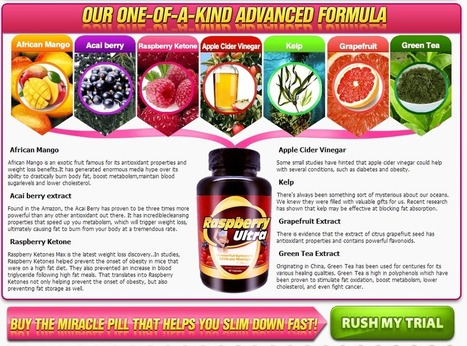 Raspberry Ultra Ketone - FREE TRIAL SUPPLIES LIMITED!!! | WEIGHT LOSS DAERTIANAS | Scoop.it