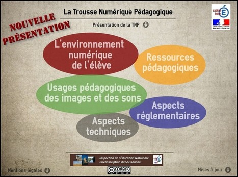 Trousse numérique pédagogique de l'IEN (Circonscription du Soissonnais) | EDTECH - DIGITAL WORLDS - MEDIA LITERACY | Scoop.it