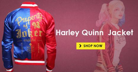 Harley Quinn Bomber Jacket | Hollywood Update News | Scoop.it