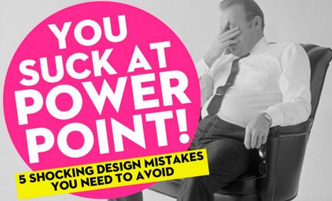 5 главных ошибок при создании бизнес-презентаций | Intad | Scoop.it