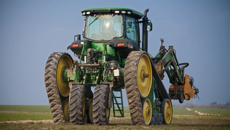 John Deere Tractor Built For Vineyards | Ag app | Scoop.it