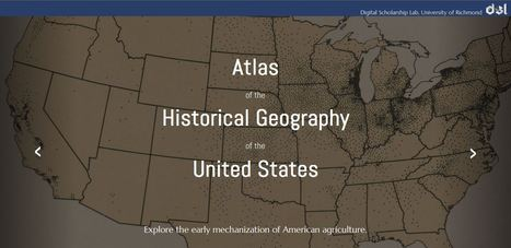 Atlas of the Historical Geography of the United States | Humanidades digitales | Scoop.it