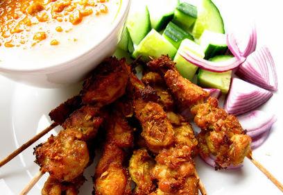 "Mummy, I can cook!: ""Tut-tut-Satay!"" Singapore Chicken Satay with Peanut Sauce | Yummy Tummy | Scoop.it"