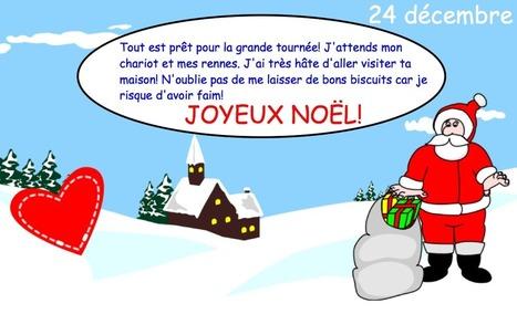 Calendrier de l'Avent pour TBI, TNI, Smartboard   Primary French Immersion Education   Scoop.it