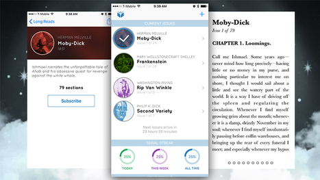 Serial Reader for iPhone Dishes Out Short Snippets of Classic Fiction Daily | Teacher-Librarianship | Scoop.it