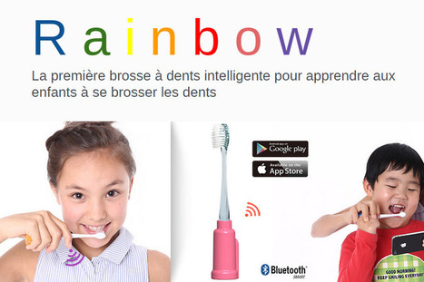 Vigilant Rainbow, la brosse à dents connectée destinée aux enfants - RTL.fr | GuitarGeek | Scoop.it