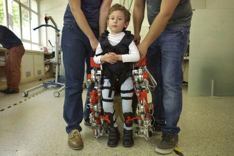 Le CSIC dévoile le premier exosquelette pour enfants paralysés | La technologie au service de la santé et du handicap | Scoop.it