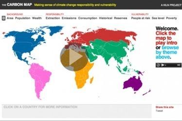 Le changement climatique en carte interactive - Terra eco | Nature en vie | Scoop.it