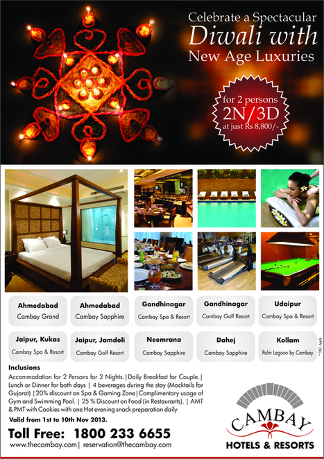 Diwali Special Holiday Travel Deals & Packages, Diwali Tour Packages 2013 | Hotels & Resorts | Scoop.it