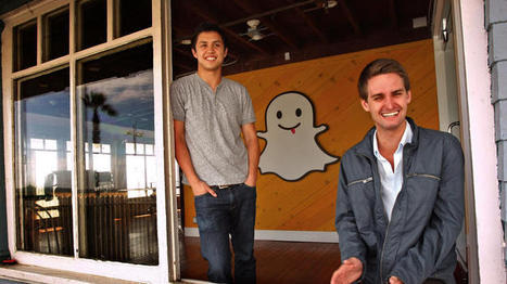 Snapchat CEO Evan Spiegel says first ads did well without targeting | Social1 | Scoop.it
