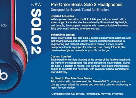 Beats Solo2 Terbaru 2014, Dengan Suara Jernih Dan Nyaman Didengar | Waksap blog | waksapblog | Scoop.it