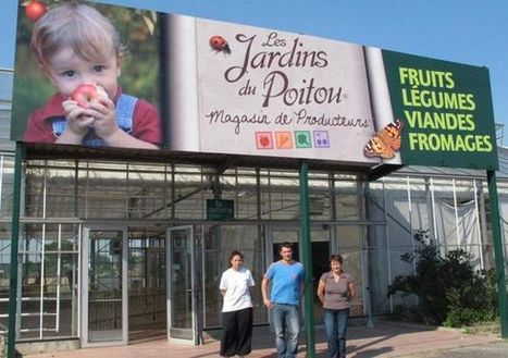 Nouvelle République : Un magasin de producteurs à la place des serres Jahan - commerce | ChâtelleraultActu | Scoop.it