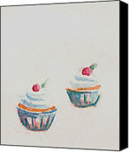 Cupcakes Painting by Alexandra-Emily Kokova - Cupcakes Fine Art Prints and Posters for Sale | Artwork | Scoop.it