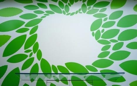 Un Apple Store japonais un peu plus vert que les autres   Toiture terrasse végétalisée   Scoop.it