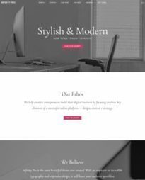 Studiopress Infinity Pro : eCommerce / Business WordPress Theme | WordPress Themes Review | Scoop.it