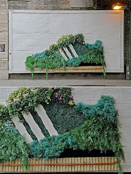 Street marketing écolo chez Adidas | Innovative Street Marketing | Scoop.it