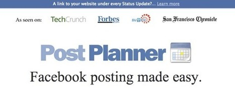 Facebook : Comment Programmer Vos Mises A jour Avec Post Planner ? [Vidéo] | Time to Learn | Scoop.it