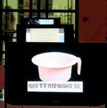 Nicanor Parra expone en Madrid la serie de los dardos fulminantes   Parra. Obras Públicas. Fundación Aqualogy   Scoop.it