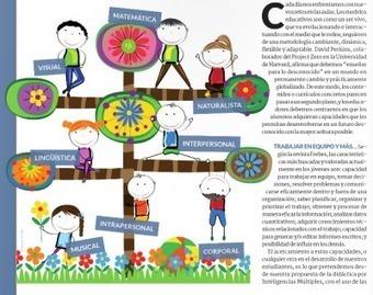 Educar en Inteligencias Múltiples con las TIC revista Educación 3.0 | FundaciónME | Scoop.it