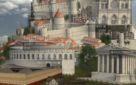 Travel Through 2,000 Years of Paris' History With Interactive 3D Model | Mundos virtuais | Scoop.it