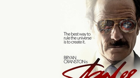 Fan Poster for a STAN LEE Biopic Starring Bryan Cranston | Discover Your Inner Geek | Scoop.it