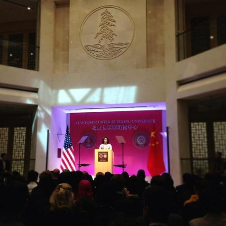 Remarks by the First Lady at Stanford Center at Peking University   The White House   Connect All Schools   Scoop.it