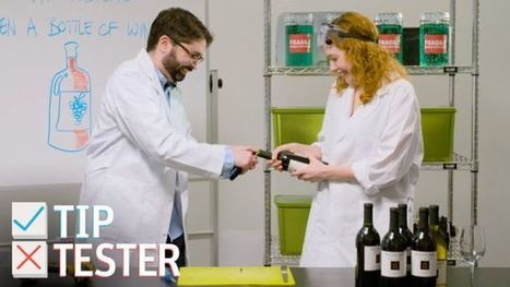 Can You Open a Bottle of Wine Without a Corkscrew? | Bazaar | Scoop.it