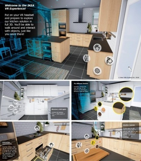 IKEA is taking the process of buying a kitchen to virtual reality | Virtual Reality VR | Scoop.it