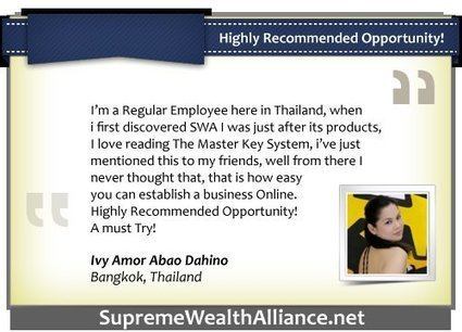 Supreme Wealth Alliance | SWA Ultimate Tips and Updates | SWA Ultimate | Scoop.it