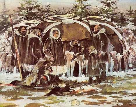 Upper Palaeolithic mammoth mega-sites: a dog's dinner? | Aux origines | Scoop.it