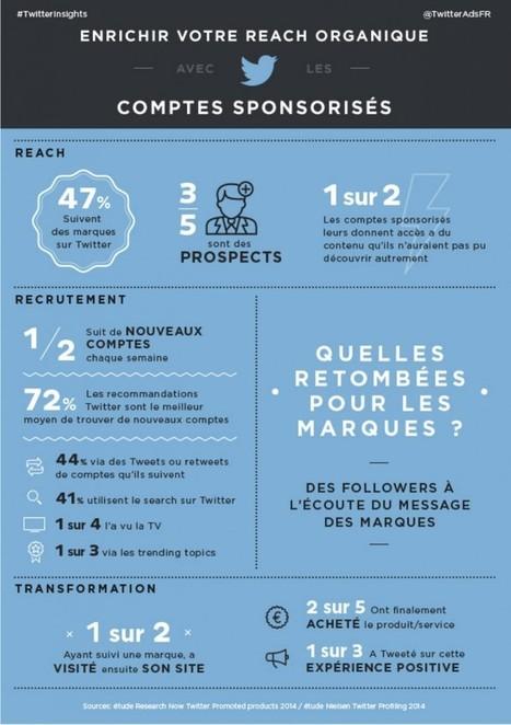 Infographie : Twitter et les comptes sponsorisés en chiffres | odelattre | Scoop.it