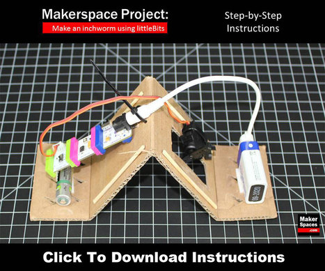 Makerspace Project - Make an inchworm using littleBits - Makerspaces.com | K-12 Connected Learning | Scoop.it