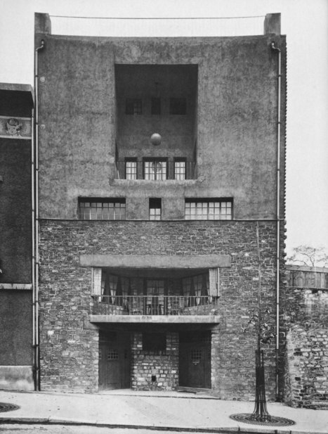 Adolf Loos, Tristan Tzara House, Paris (1925-1926) : socks-studio | The Architecture of the City | Scoop.it