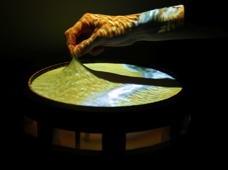 "3D? Whatev! Obake Is A ""2.5D"" Elasticated Touch Screen Display  