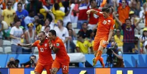 Les Pays-Bas en quarts après leur victoire face au Mexique (2-1) | Sport en direct | Scoop.it