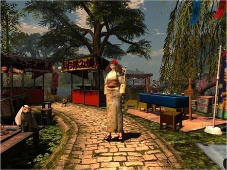 「祭り」 @ - NOSTALGIC - ROCHE - Second life - Yana | Second Life Destinations | Scoop.it