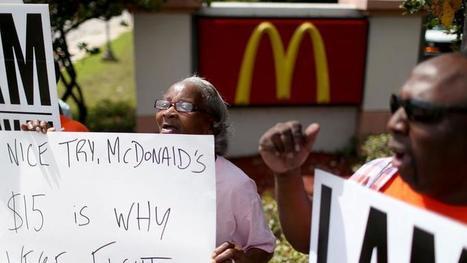 McDonald's augmente ses bas salaires américains de 10% | Politique salariale et motivation | Scoop.it