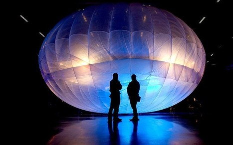 Brazil mulls use of balloons to bring Internet to Amazon rainforest | Technoculture | Scoop.it