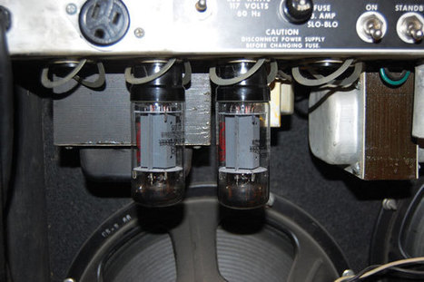 Ask Amp Man: Removing Output Tubes to Reduce Power | Guitar Outreach | Scoop.it
