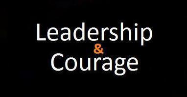 Leadership & Courage | Surviving Leadership Chaos | Scoop.it