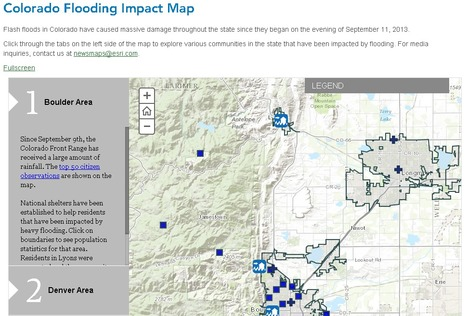 Colorado Flooding Story Map & Satellite Images | GTAV AC:G Y7 - Water in the world | Scoop.it