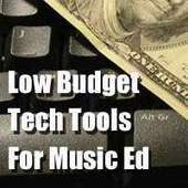 High Tech- Low Budget Technology Options For The Music Classroom | Music education and technology | Scoop.it