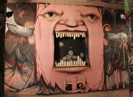 'Living Faces' Take Over A Russian City | World of Street & Outdoor Arts | Scoop.it