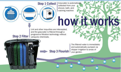 Aqua2use Sends Grey Water to the Plants | green infographics | Scoop.it