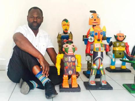Côte d'Ivoire : à Abidjan, l'art contemporain en effervescence - JeuneAfrique.com | art move | Scoop.it