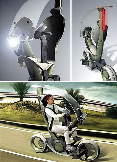 7 Futuristic Scooters and Chairs | Vulbus Incognita Magazine | Scoop.it
