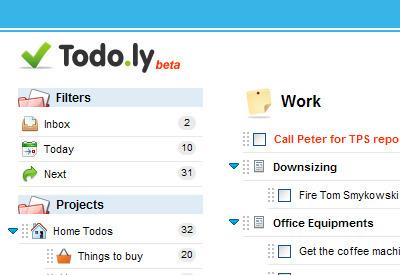 Todo.ly: Créer des listes de taches à faire sur google chrome | Le Top des Applications Web et Logiciels Gratuits | Scoop.it